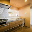 リノデュースの住宅事例「ヴィンテージ+和モダンをとり入れた、心おちつく空間」