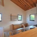 チルルームでまったりできる葉山の家の写真 キッチン