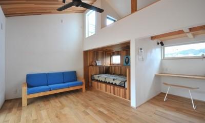 チルルームでまったりできる葉山の家