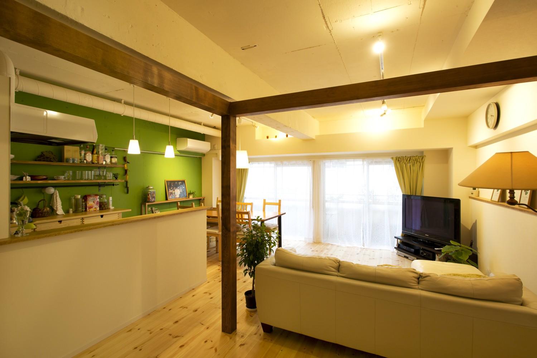 リビングダイニング事例:LDK(green heartful home ~オトナ・リノベーション~)