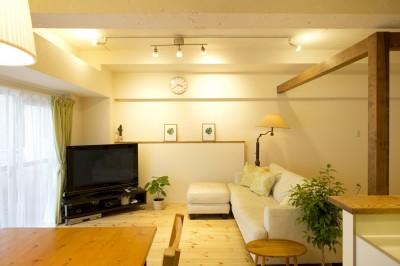 リビング (green heartful home ~オトナ・リノベーション~)