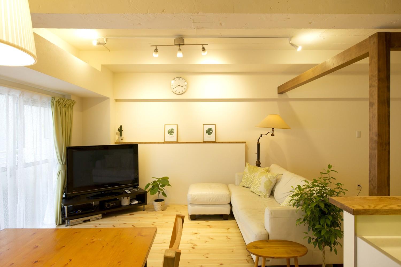 リビングダイニング事例:リビング(green heartful home ~オトナ・リノベーション~)