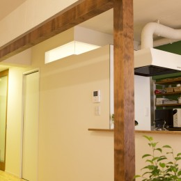 green heartful home ~オトナ・リノベーション~ (光りを取り込む)