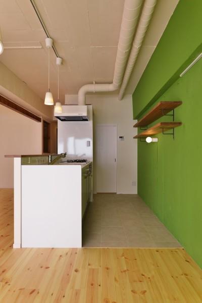 キッチン (green heartful home ~オトナ・リノベーション~)