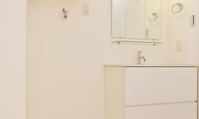 洗面スペース|green heartful home ~オトナ・リノベーション~