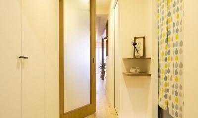 玄関|green heartful home ~オトナ・リノベーション~