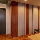 ホテルライクな戸建てリノベの写真 子供部屋