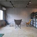 ホテルライクな戸建てリノベの写真 書斎・事務所