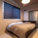 ホテルライクな戸建てリノベの写真 ベッドルーム