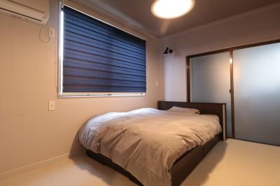 ベッドルーム (ホテルライクな戸建てリノベ)
