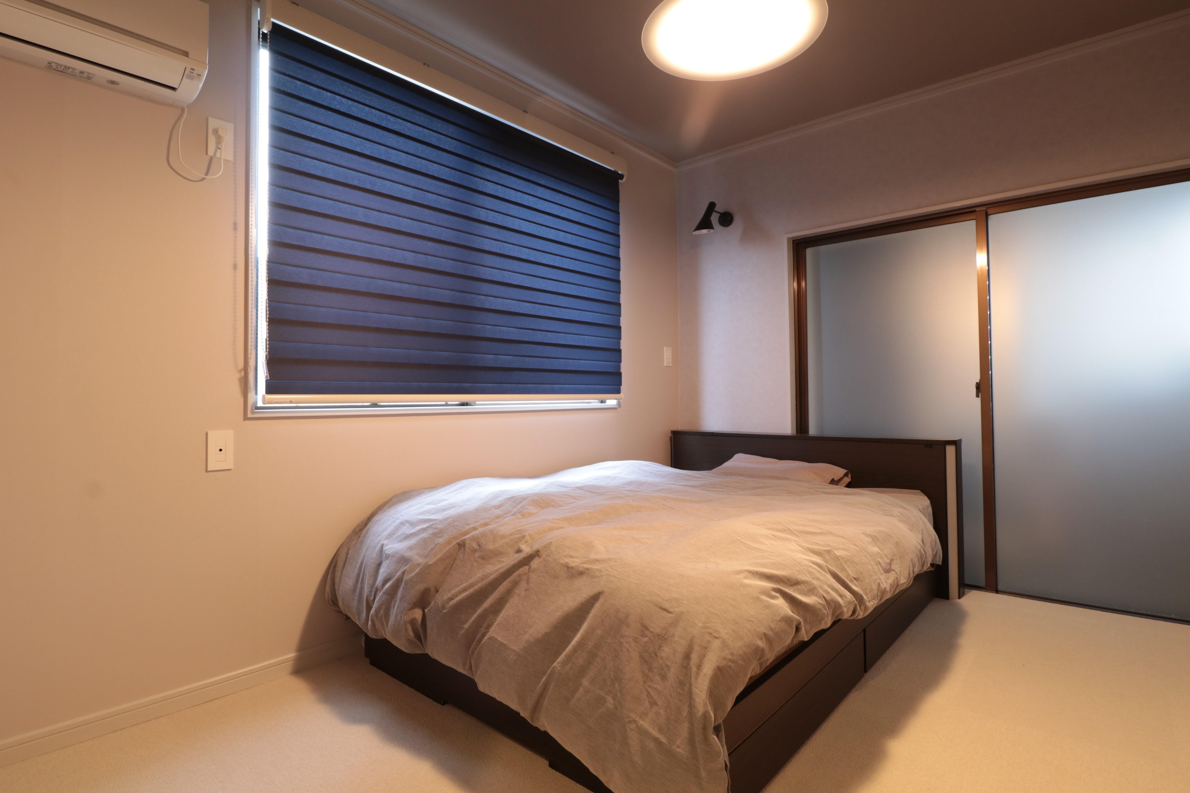 ベッドルーム事例:ベッドルーム(ホテルライクな戸建てリノベ)