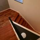 ホテルライクな戸建てリノベの写真 階段