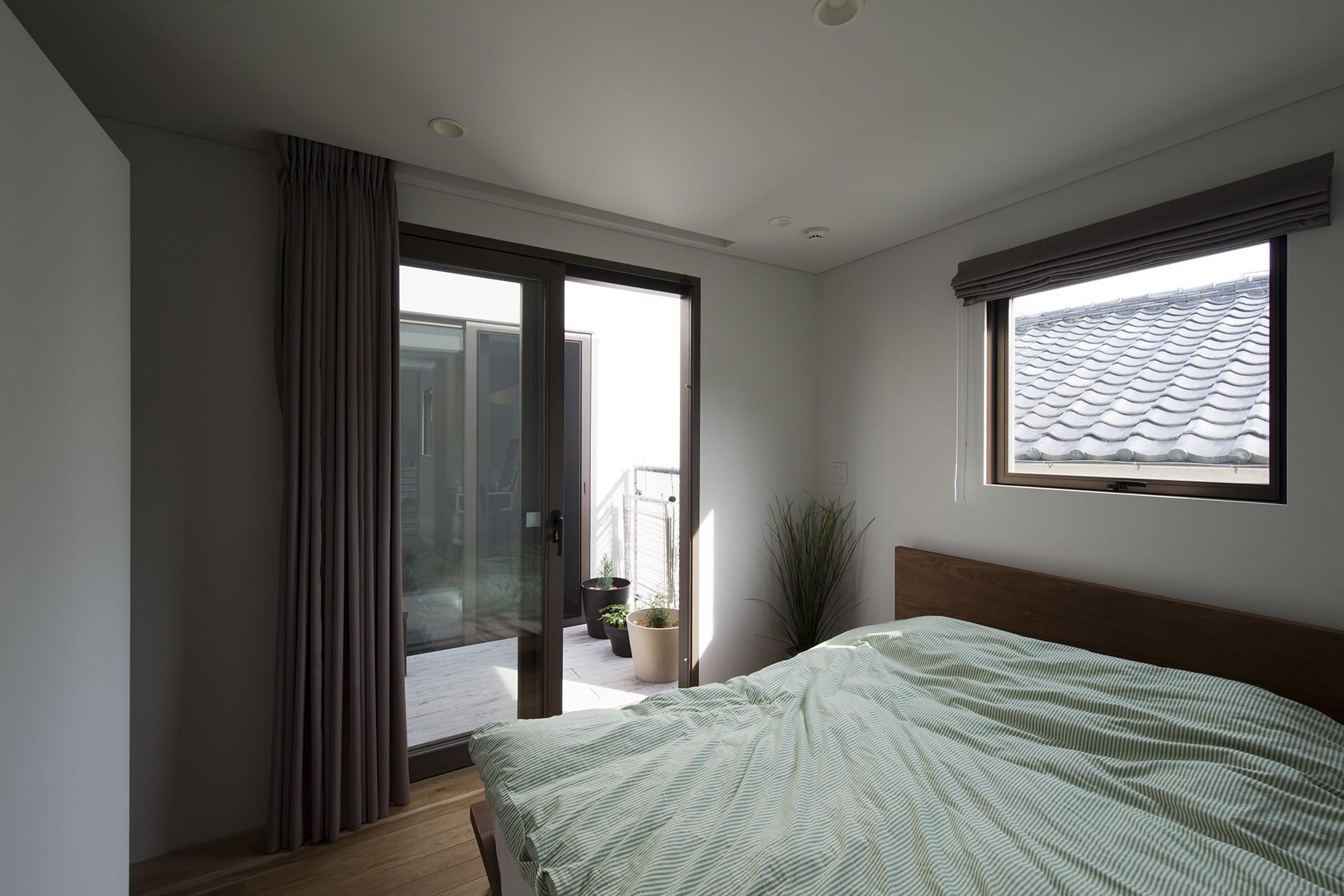 ベッドルーム事例:寝室(HouseM)