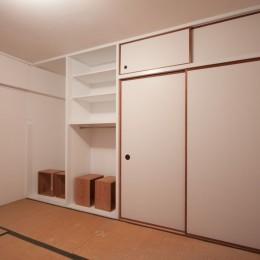 東大路高野第三住宅リペア|京都の団地を好みに合わせて団地らしく仕立て直す