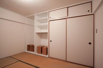 和室1 (東大路高野第三住宅リペア|京都の団地を好みに合わせて団地らしく仕立て直す)