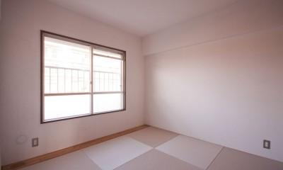 和室2|東大路高野第三住宅リペア|京都の団地を好みに合わせて団地らしく仕立て直す