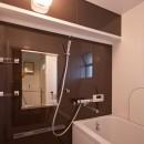 東大路高野第三住宅リペア|京都の団地を好みに合わせて団地らしく仕立て直すの写真 浴室