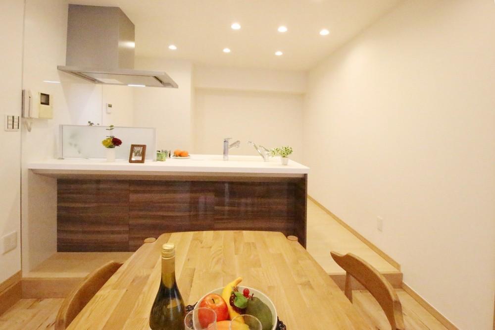 一宮リノベーションマンション (キッチン)