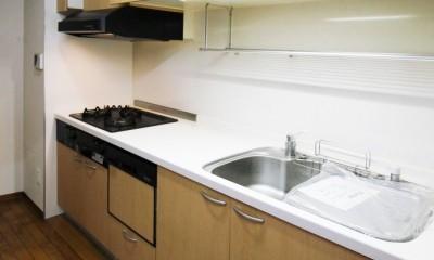 東区リノベーションマンション (キッチン)