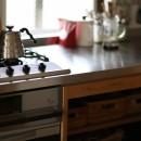 北欧を感じられる家の写真 キッチン