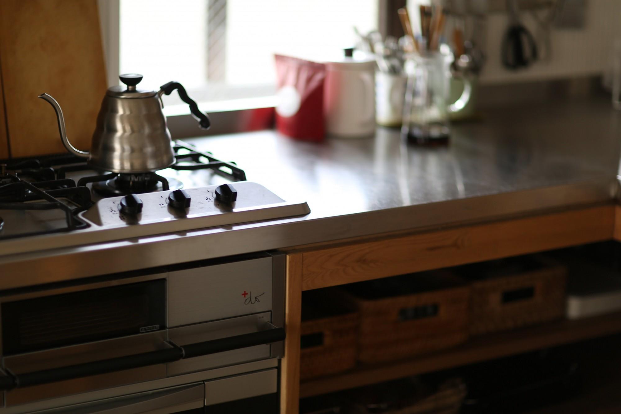 キッチン事例:キッチン(北欧を感じられる家)