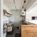 素因数の家 すくすくリノベーションvol.11の写真 フレキシブルスタイルのキッチン