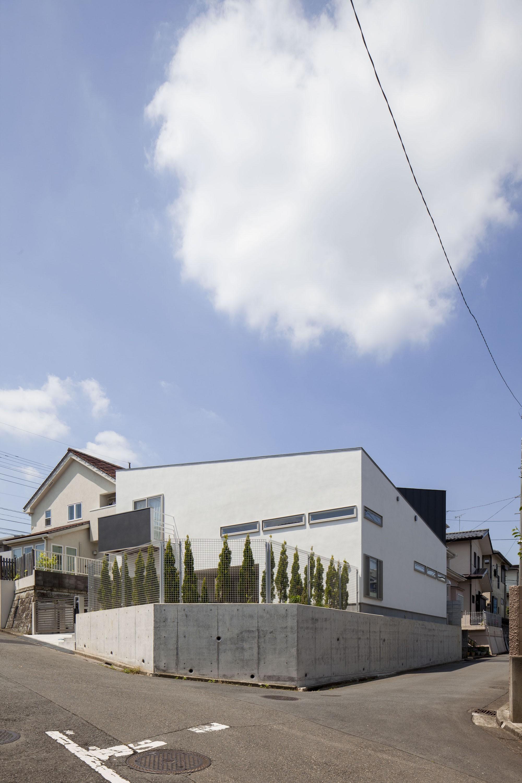 スロープの家・卍(愛犬家住宅・愛猫家住宅) (外観)