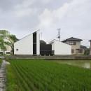 山梨の平屋の家の写真 ミニマルデザインの外観