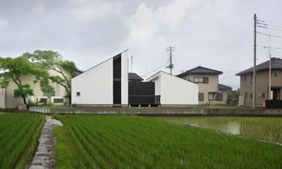 山梨の平屋の家