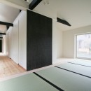 山梨の平屋の家の写真 和室