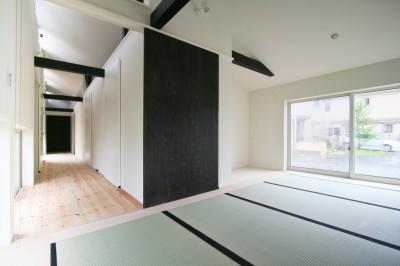 和室 (山梨の平屋の家)