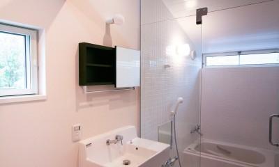 浴室|山梨の平屋の家
