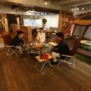 名古屋市東区オフィスの写真 アウトドアミーティング