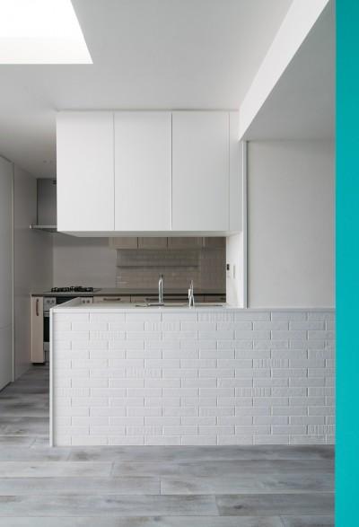 望楼の家 すくすくリノベーションvol.10 (シンプルなキッチン)