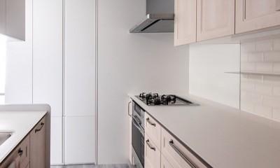 望楼の家 すくすくリノベーションvol.10 (キッチン廻りのスマート動線)
