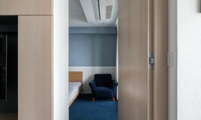 望楼の家 すくすくリノベーションvol.10 (リビングから将来の子ども部屋への隠し扉)