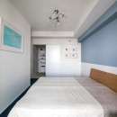 望楼の家 すくすくリノベーションvol.10の写真 色使いが楽しい子供部屋