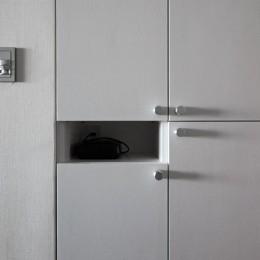 望楼の家 すくすくリノベーションvol.10 (気配りのある玄関収納)