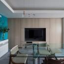 望楼の家 すくすくリノベーションvol.10の写真 隠し扉となっているテレビボード