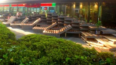 lying down space (Platform)