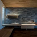 北林泉の家の写真 光と影のコントラストを楽しむ