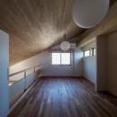 北林泉の家の写真 リビングから空間がつながる書斎