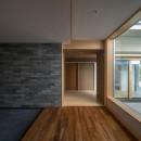 北林泉の家の写真 趣の違いを楽しむ和室棟の入口
