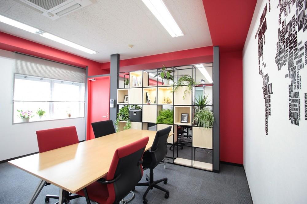 名古屋市中区オフィス (応接スペース)