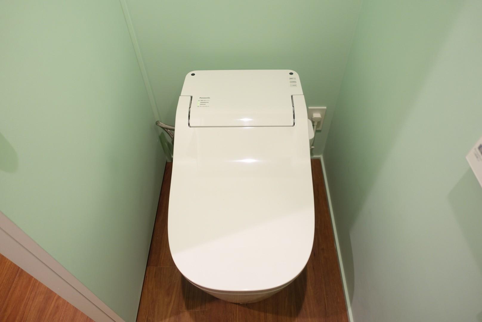 バス/トイレ事例:トイレ(自然素材で呼吸を大事にするヨガスタジオ)