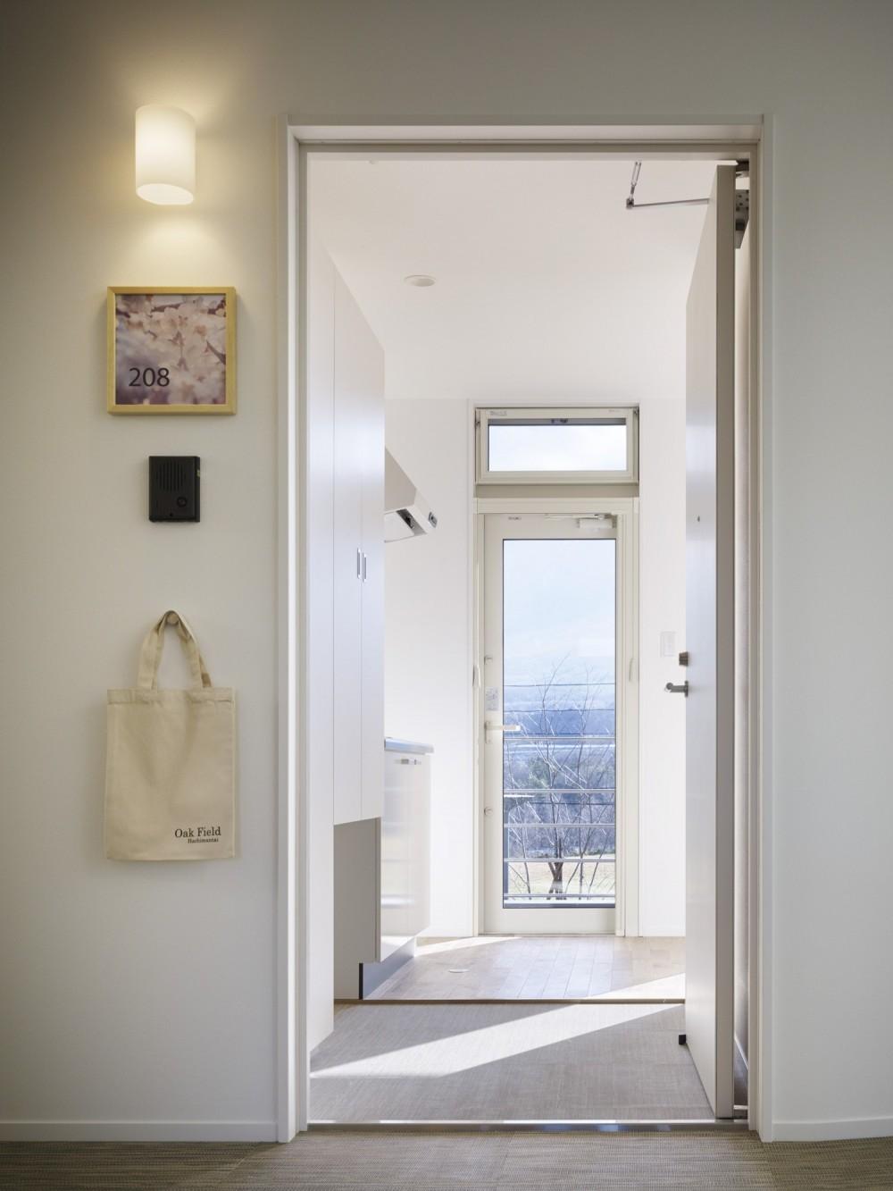 岩手の高齢者共同住宅 オークフィールド八幡平 (玄関)