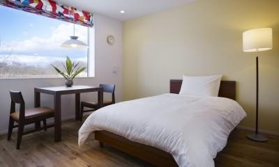 岩手の高齢者共同住宅 オークフィールド八幡平 (寝室)
