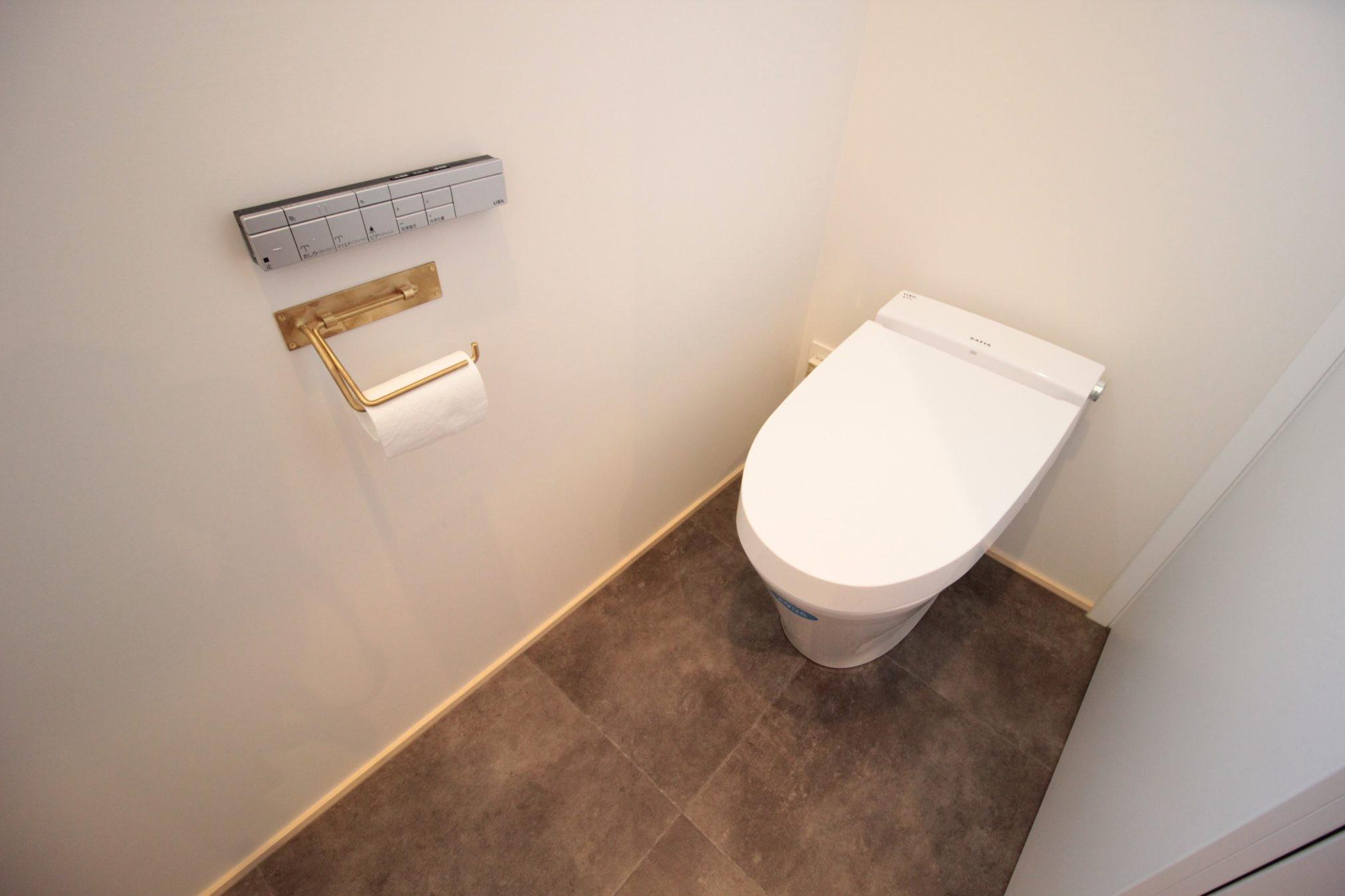 バス/トイレ事例:トイレ(一宮市S様邸)