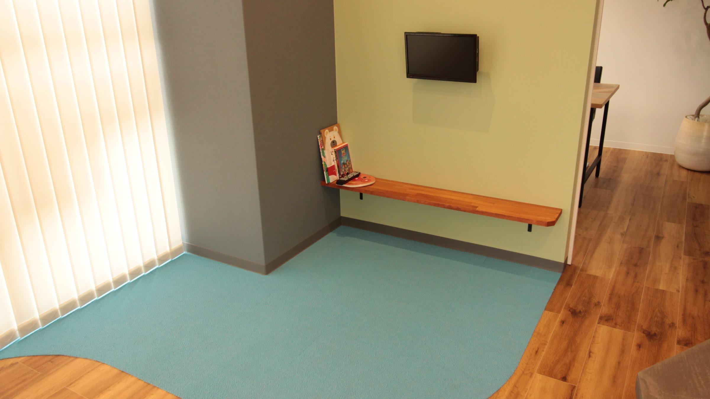 子供部屋事例:キッズルーム(名古屋市西区オフィス)