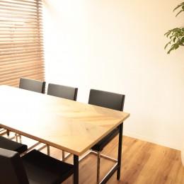 名古屋市西区オフィス (オリジナルテーブル)